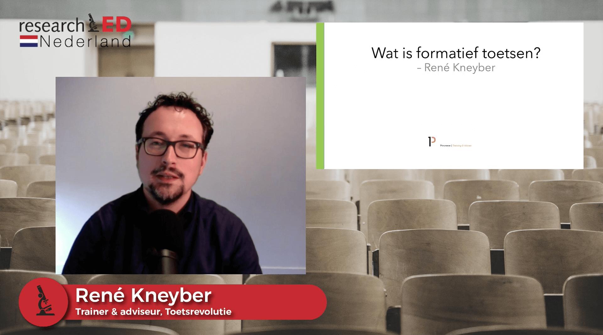 Ontmoet de onderzoeker: René Kneyber